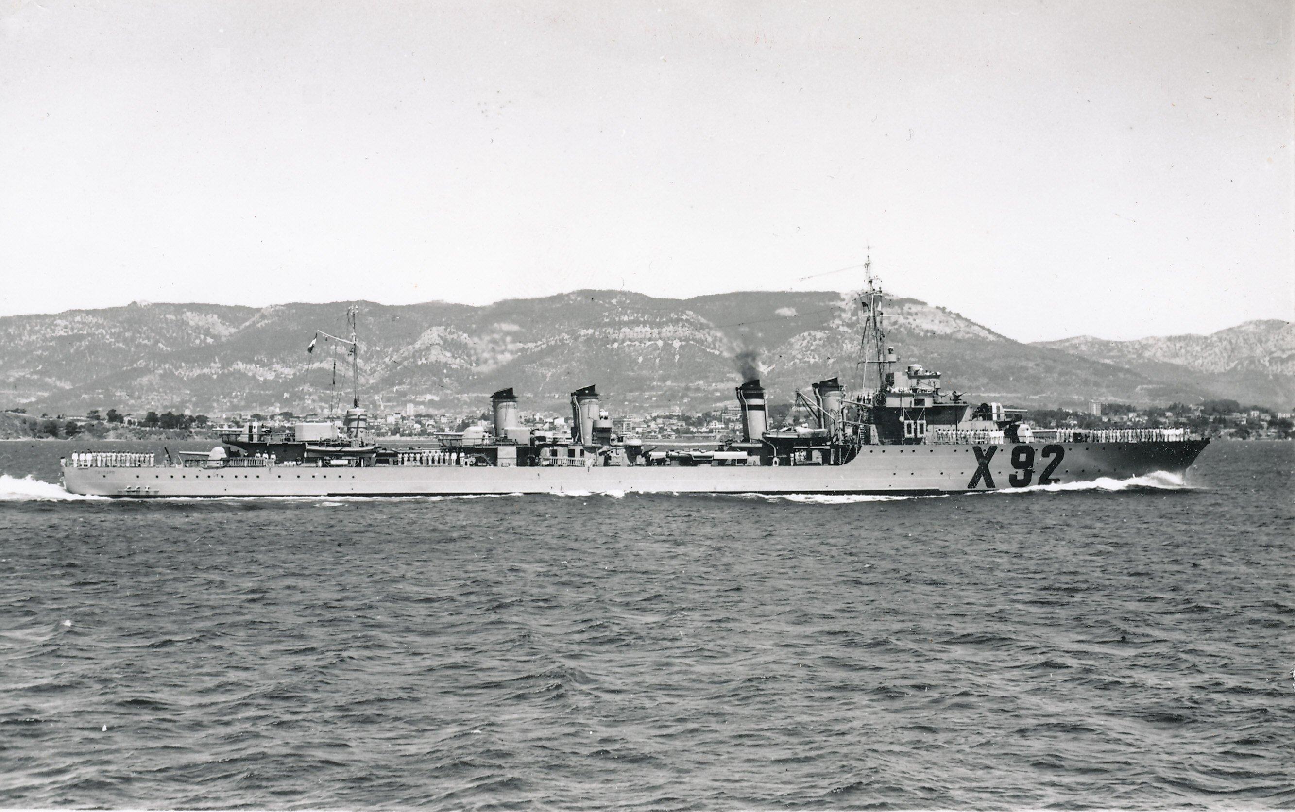contre-torpilleur le Cassard 907867Cassard