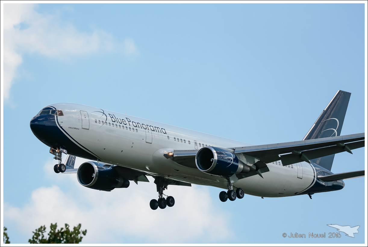 [22/07/2016] Boeing 767-300 (EI-CMD) Blue Panorama 908058201607222611