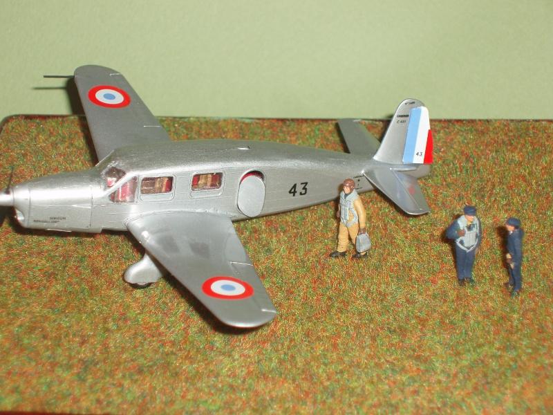 Diorama Caudron Simoun C635 Armée de l 'Air 1940 ! 908300P1010330