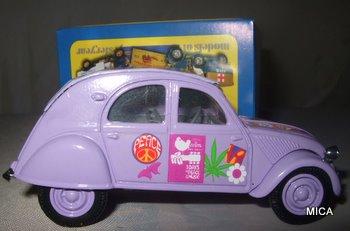 Citroën 2CV - 1957  - Dinky DY 32 - Matchbox Collection. 908557DSCF7087