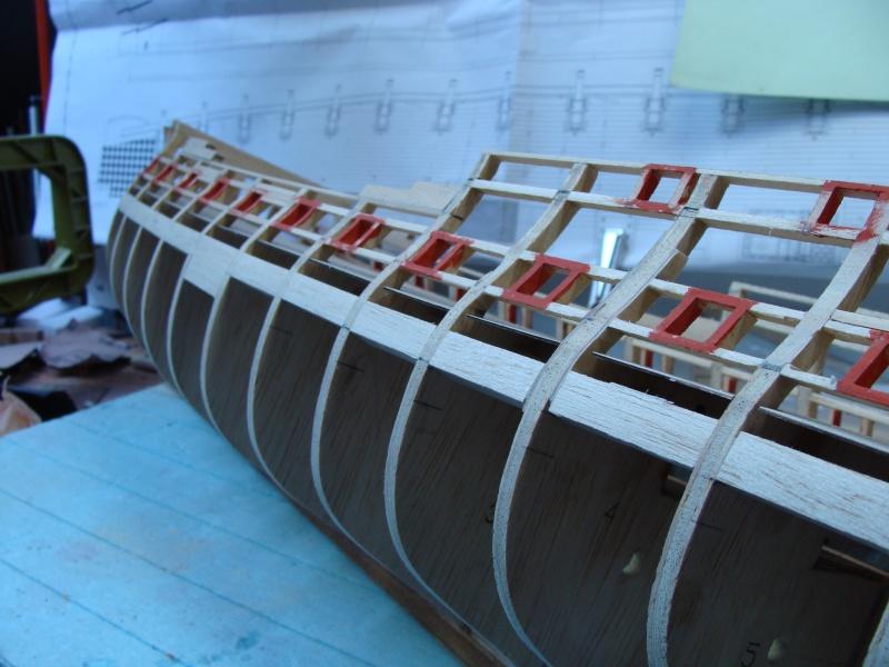 US Frigate Confederacy 1778 de Model Shipways  au 1/64 éme - Page 2 910731DSC01908
