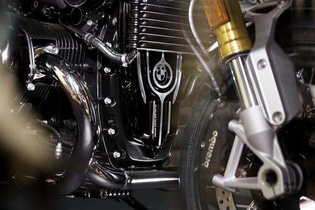 BMW Motorrad : accessoires « Machined » pour les BMW R NineT. 911324P90245871highResbmwrninetxroland
