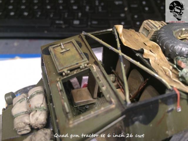 Quad gun tractor et 6 inch 26 CWT en Normandie 1/35 912007IMG4836