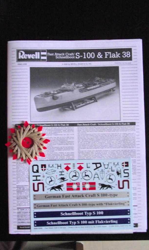Schnellboat S100 Revell au 1x72 Limited Edition 912318SchnellboatS1009