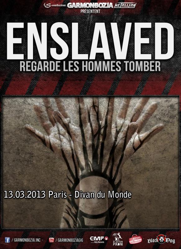 13.03 - Enslaved + Regarde Les Hommes Tomber @ Paris 912583enslavedrlhtParis2013