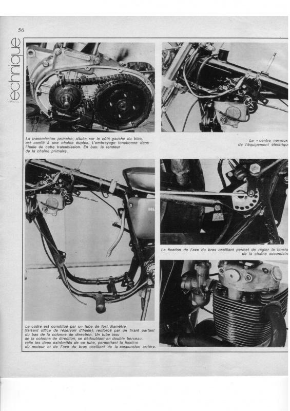 "MOTO cyclisme n°31 - BSA B50SS ""Gold Star"" 913328TechniqueB501page005"