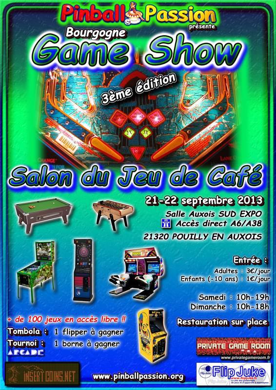 Bourgogne Game Show 2013 : édition N°3 913374affichesalon