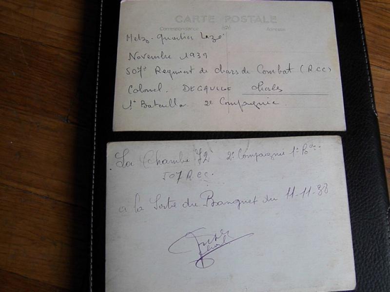 Le 507° RCC 1938/1939 : les chars 914127103E0177