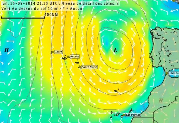 Esquive cyclonique 915005Acores