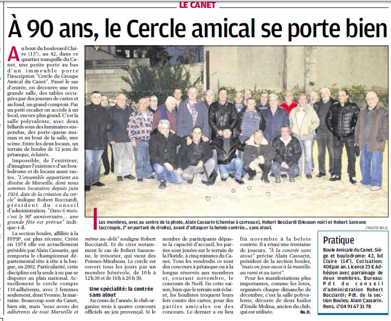 SPORTS DES CLUBS DE  MARSEILLE OU DE SA PERIPHERIE ........... - Page 4 9150604340