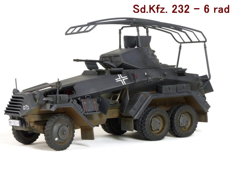 Sd.Kfz. 232 6 Rad - France 1940 - Italeri 1/35 915470P1040006
