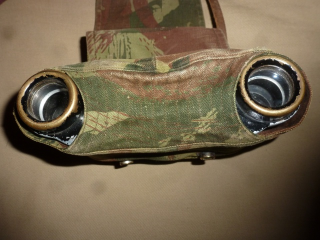 Jumelles et couvre-jumelles camouflage lézard 916281P1070137