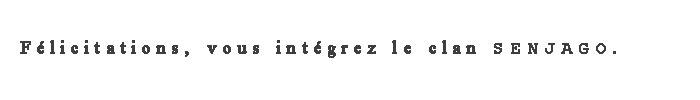 Présentation Shigaro 916812senjago