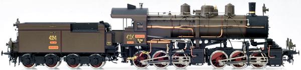 Les locomotives à vapeur articulées 916833MicroMetakit030030KOBType424