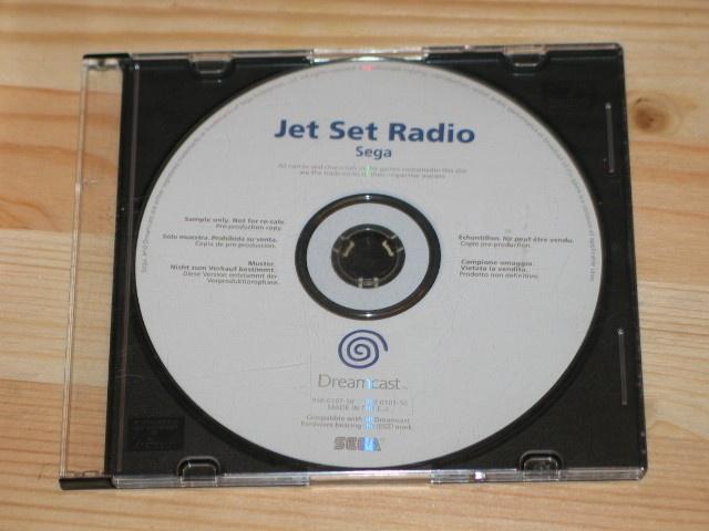 [RECH] Dreamcast - Disques Promotionnels / White Label 916896wljetset