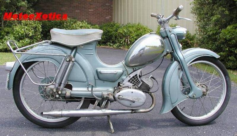 Moto unique 917022ZundappFalconette1958