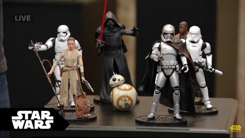 Star Wars Disney exclusive 919525DisneyExclusiveForceAwakensEliteSeries