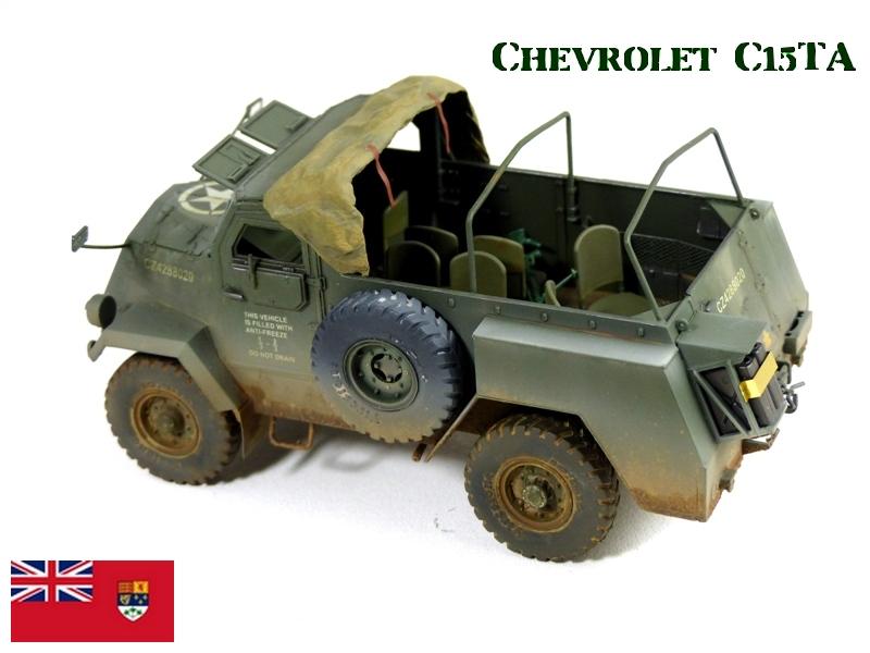 CHEVROLET C15TA - Normandie 44 - IBG 1/35 919706P1040600