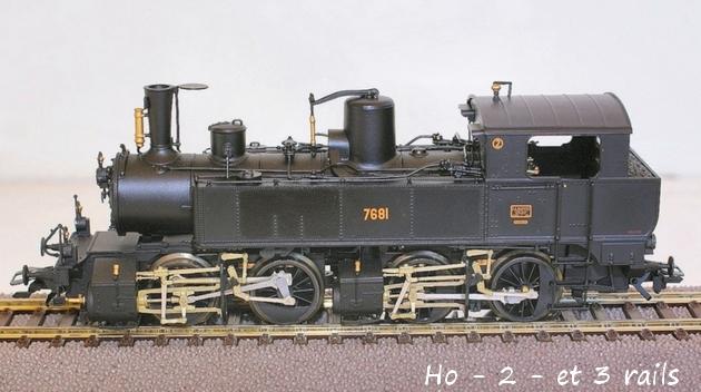 Les locomotives à vapeur articulées 919837Bemo020020T7681R