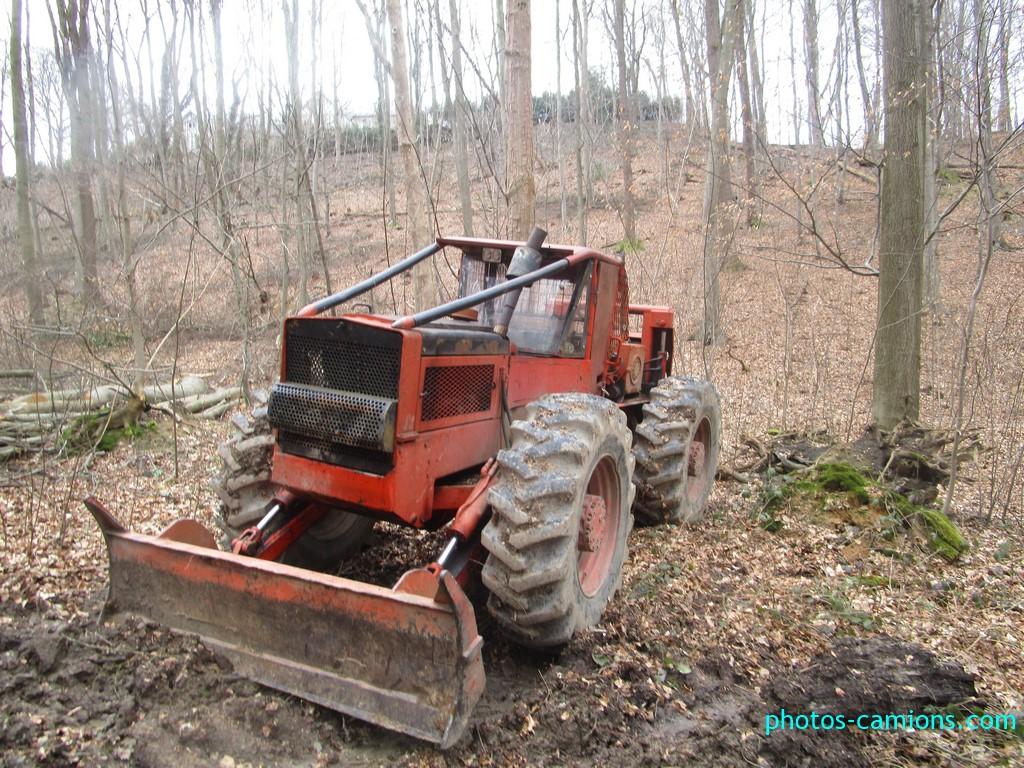 tracteur forestier timberjack 240