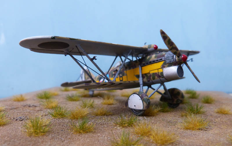Fiat CR 32 de l'Aviation Légionnaire - Italeri (Upgrade ex Supermodel) 921434CR3269
