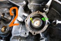 MZ 125 TS changement de roulements d'une MZ 125TS 921623P1030118