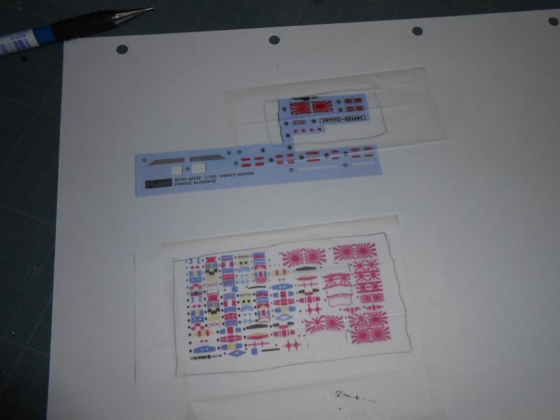 Yamato 1/700 fuji, PE,Pont en bois et babioles - Page 5 921983DSCN6306