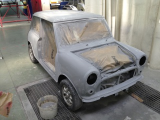 Restauration Mini Austin 1300 Injection 923652IMG4816