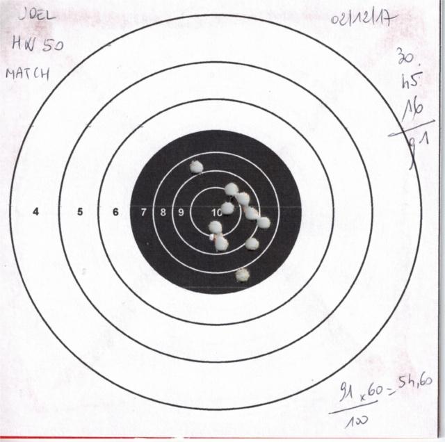 weihrauch - Tests plombs avec carabine Weihrauch HW50S 924704HW50GAMOMATCH1