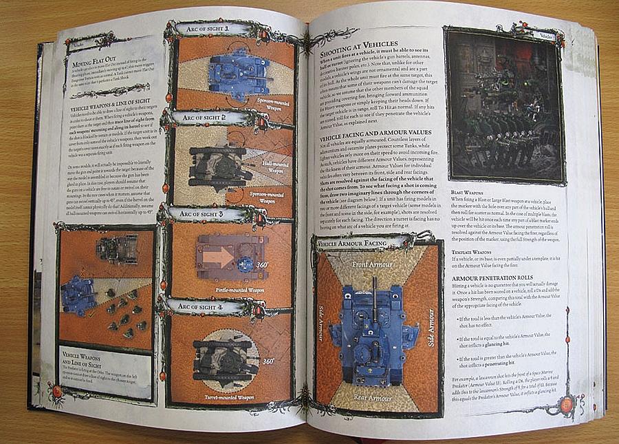 Le Livre de Règles de Warhammer 40,000 - V6 (en précommande) - Sujet locké 924765w40kimages4