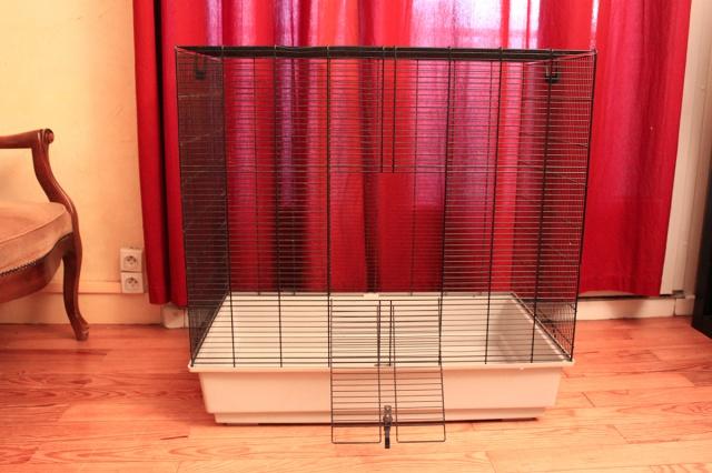 Vends cage Freddy Max 2 + cage Ruffy 2 926489grandecage2