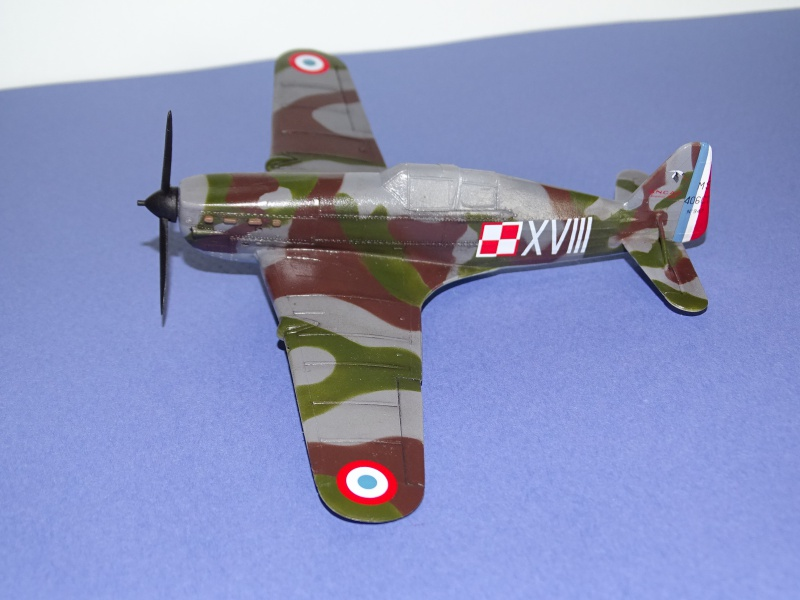 Morane Saulnier MS 406 GC I/2 Damblain Sgt Antoni Beda Avril 1940 926573DSC01745