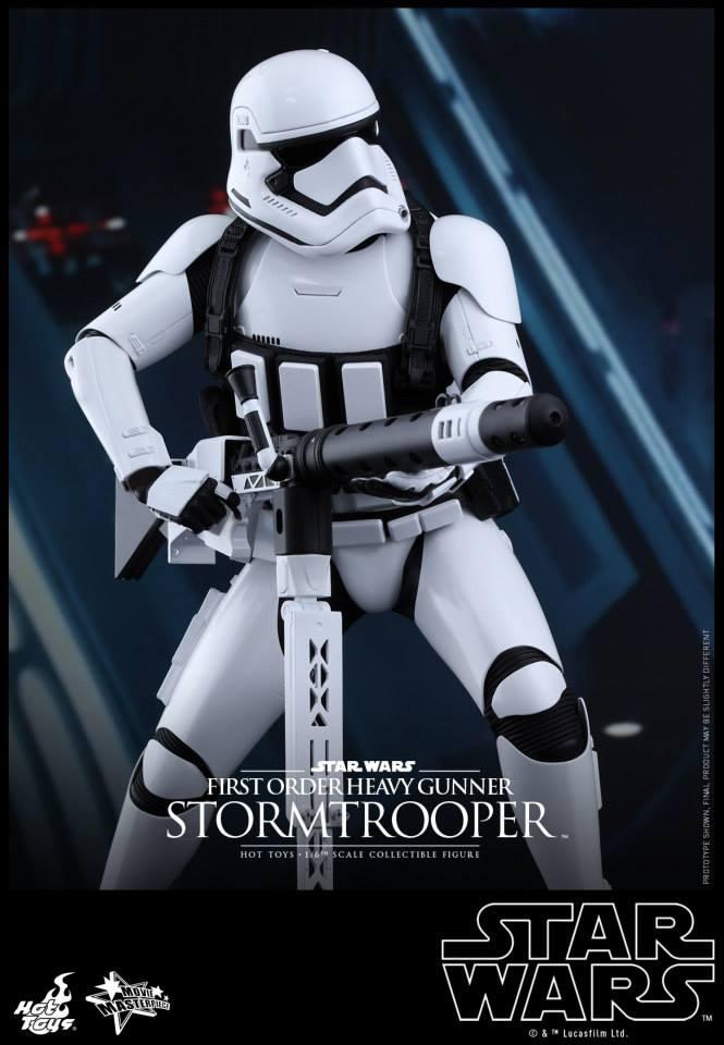 HOT TOYS - SW7: TFA - First Order Heavy Gunner Stormtrooper 926622109