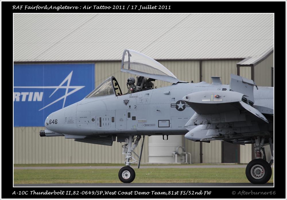 A-10C Thunderbolt II - West Coast Demo Team 926981IMG3485