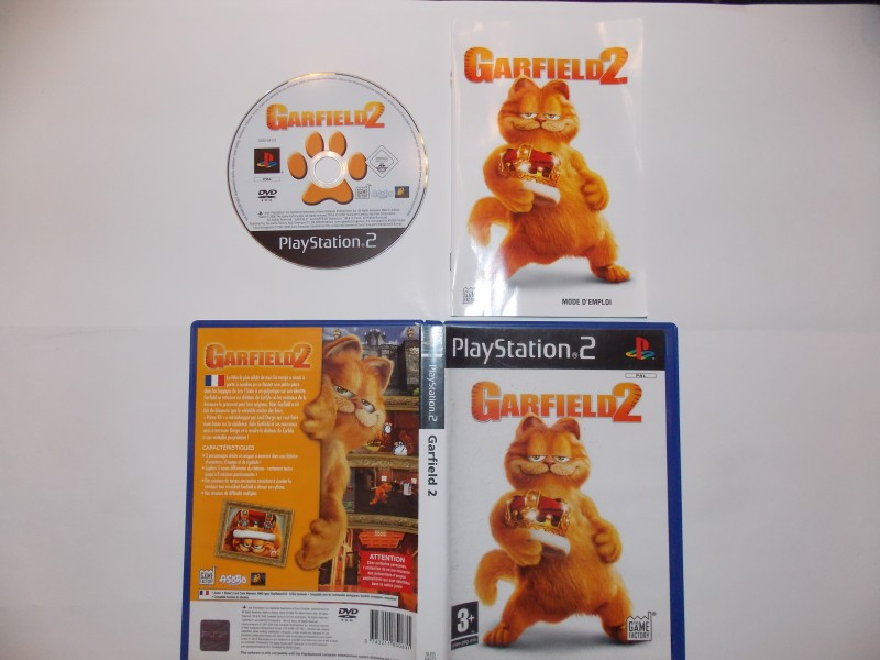 Garlfield 2 927207Playstation2Garfield2