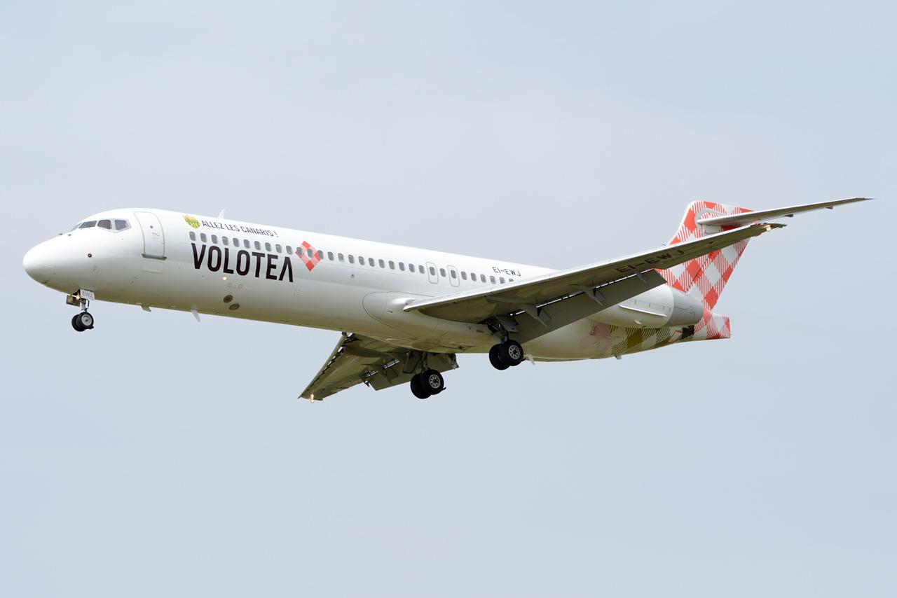 """[18/03/2014] Boeing 717 (EI-EWJ) Volotea Airlines: """"ALLEZ LES CANARIS"""" Stickers 927240DSC3150"""