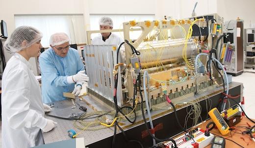 L'horloge atomique PHARAO à bord de l'ISS en 2016 927888pharaocstcopie