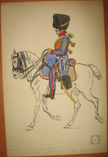 Les chasseurs à cheval de la Garde 927996ico722