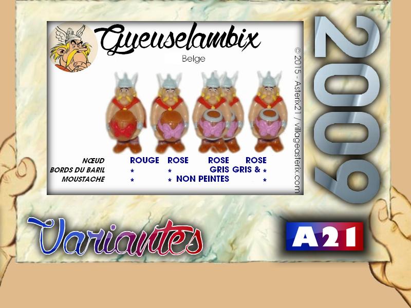 Astérix® les Variantes d'Hier et d'Aujourd'hui [Le Catalogue] 928058MarbreVariantesKinder2009Gueuselambix