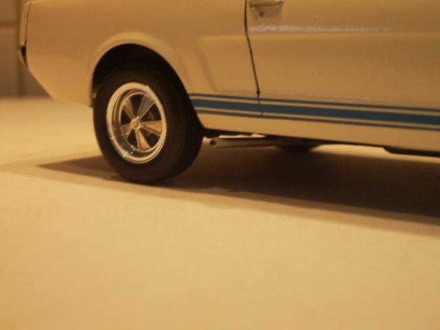mustang shelby 350 GT 1965  kit monogram 1/24 . 930256IMGP3060