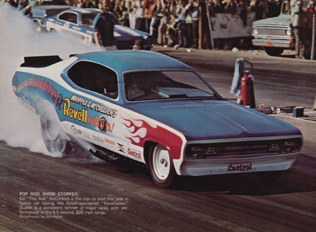 "Ed ""The Ace"" McCulloch's Revellution Demon Funny Car 930615KGrHqJiQEqvY5etSBQBj7q36057"