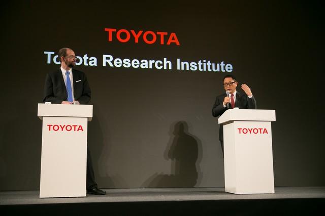 Toyota va créer un institut de recherche et développement dédié à l'intelligence artificielle 932236201511060113