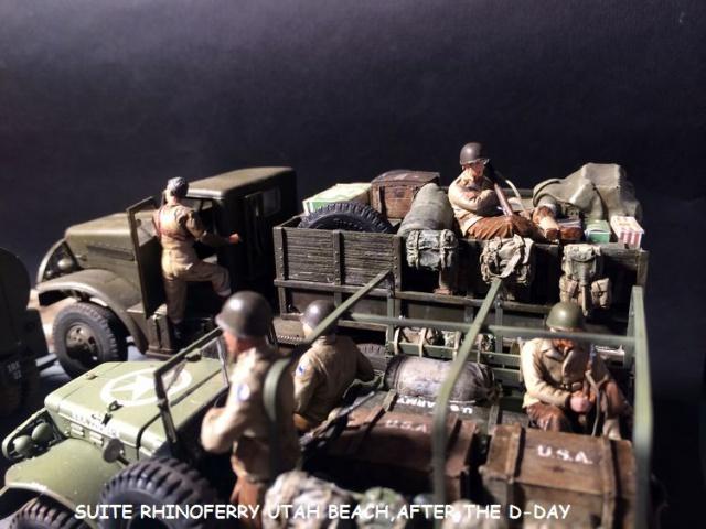Rhinoferry D12 plage du débarquement Normandie (Hobby Boss, AFV, Italeri, 1/35) - Page 3 932880laderdesders015