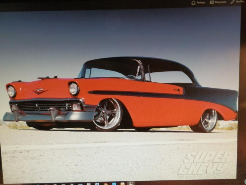 #47 : Chevy bel air 56 custom (TERMINEE) 932941630