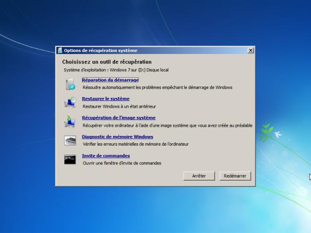 WinRE (Win7) réparation du démarrage 934795w7dem5