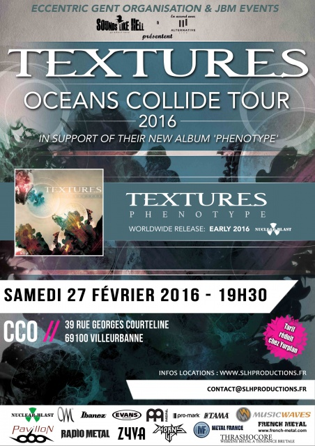 27.2 TEXTURES @ CCO, Lyon 937155TexturesOCTour2016LAYERED