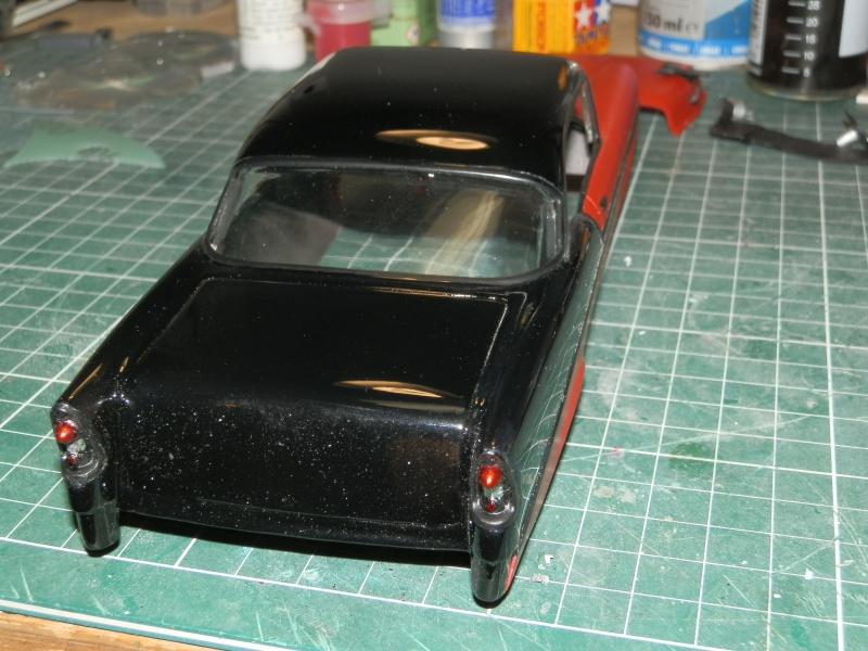 #47 : Chevy bel air 56 custom (TERMINEE) 937921P9295371