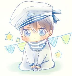 He's a mermaid, my sweet Kiku-chan (◕‿◕)♡ 938045069