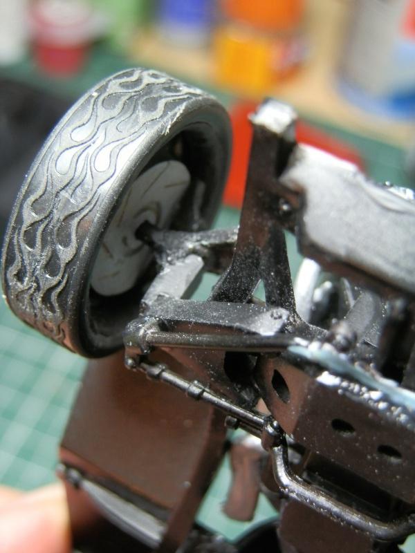 #47 : Chevy bel air 56 custom (TERMINEE) 938108P9295367