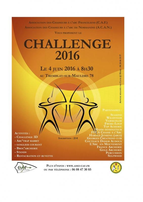 Concours des Chasseurs à l'Arc Franciliens - 4 Juin 2016 938668ChallengeCAF20161